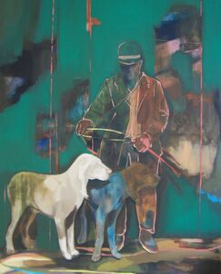 Anna Maria Schonrock, 'Man with Dogs ', 2015