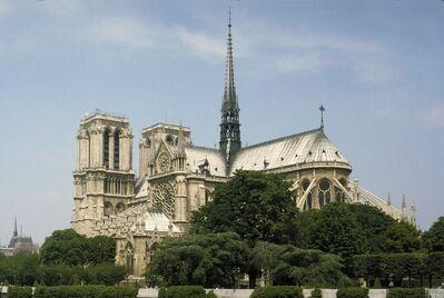 'Notre Dame Cathedral, Paris', Begun ca. 1215