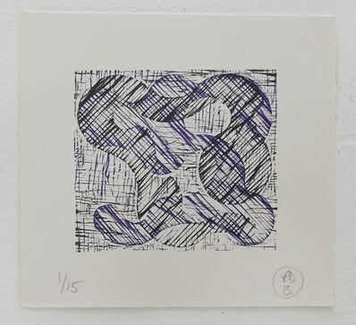 Richard Deacon, '1+1=10 Black/Purple', 2013