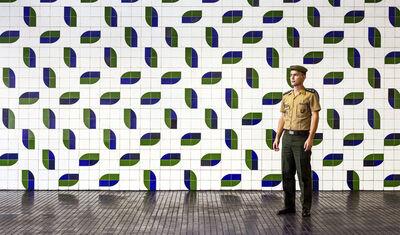 Vincent Fournier, 'Captain Edivaldo, General Army Headquarters, Brasília, 2019', 2019