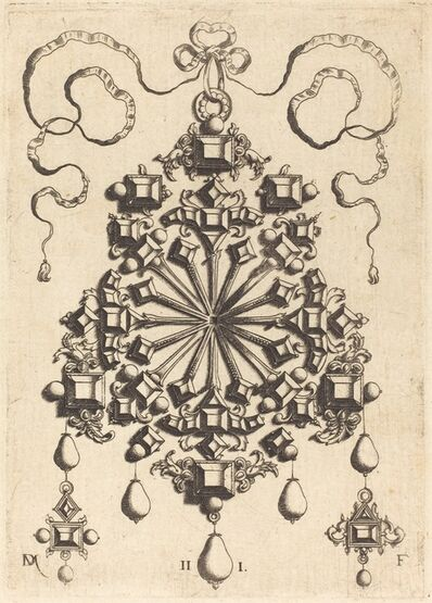 Daniel Mignot, 'Large Pendant with Star at Centre'