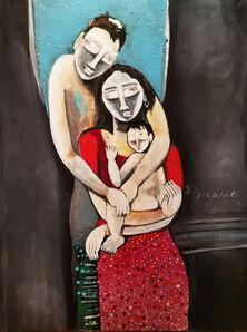 P Gnana, 'Love in Silence -02', 2019