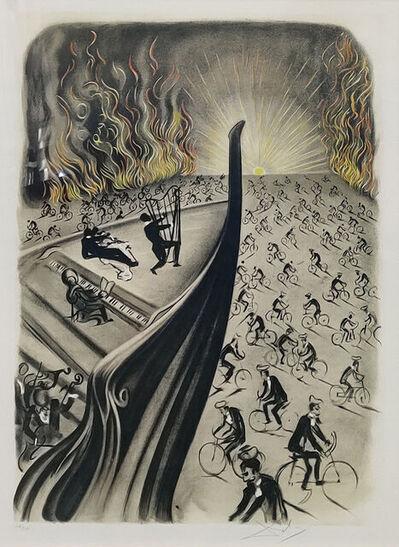 Salvador Dalí, 'Symphony Bicyclette', 1970