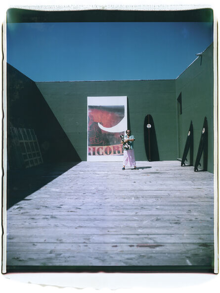 Julian Schnabel, 'Untitled (Montauk Studio)', 2004