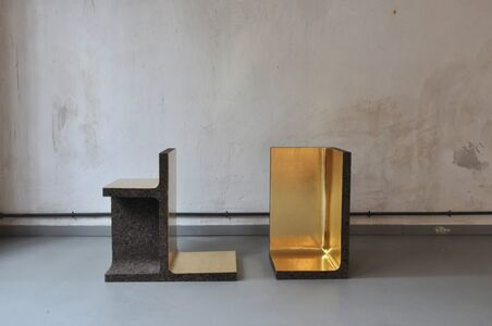"""Eric Benqué, 'Side table 1 and 2, """"Traits d'union"""" collection', 2012"""