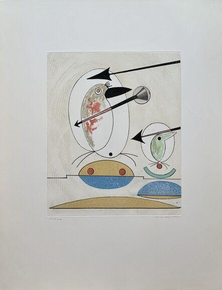 Max Ernst, 'Si le chant et la parade ne suffisent pas', 1975