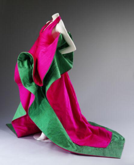 Robert Capucci, 'Evening dress of silk', 1987-1988