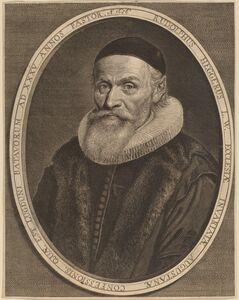 Jonas Suyderhoff after Jan de Vos, 'Rudolph Hegger'