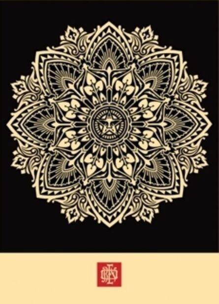 Shepard Fairey, 'Mandala Ornament 2 (Black)', 2010
