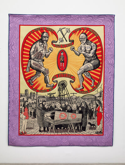 Grayson Perry, 'The Death of a Working Hero', 2016
