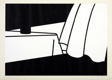 Patrick Caulfield, 'Curtain and Bottle', 1973