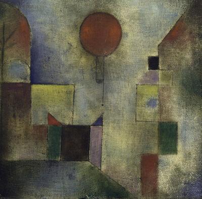Paul Klee, 'Red Balloon (Roter Ballon)', 1922