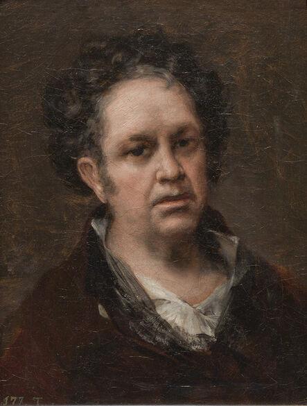 Francisco de Goya, 'Self Portrait', 1815