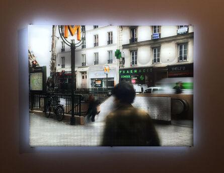 Jim Campbell, 'Paris Metro', 2014