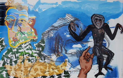 Daniel Heyman, 'Gibbon with Camel's Hump (Dartmouth)', 2013