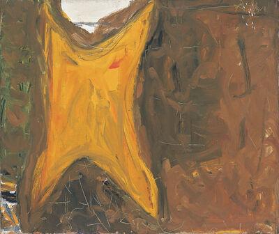 Robert Motherwell, '[Untitled (Orange, Brown)]', ca. 1951