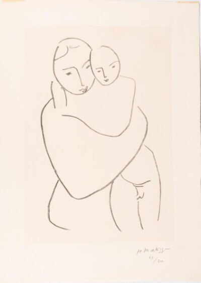 Henri Matisse, 'Vierge et Enfant', 1950-1951