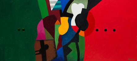 Dia Azzawi, 'Landscape 1', 2014