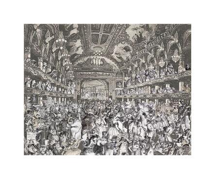Peter Blake, 'Marcel Duchamp's World Tour- The Animal's Fancy Dress Ball at Tower Ballroom, Blackpool', 2015
