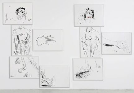 Tim Noble & Sue Webster, 'Portrait of my Wife in Pieces (9 parts)', 2014