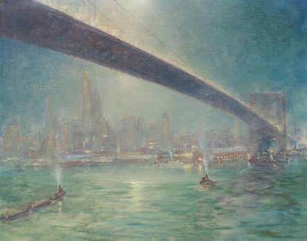 Johann Berthelsen, 'Bridge Nocturne', ca. 1945
