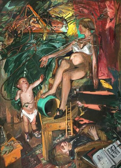 Jerome Witkin, 'Her Argument with Nature', 1994-1995