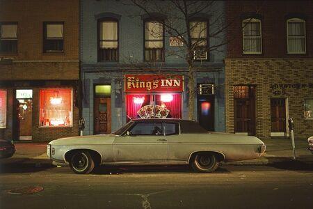 Langdon Clay, 'King's Inn Car, Chevrolet Caprice, Hoboken, NJ', 1975