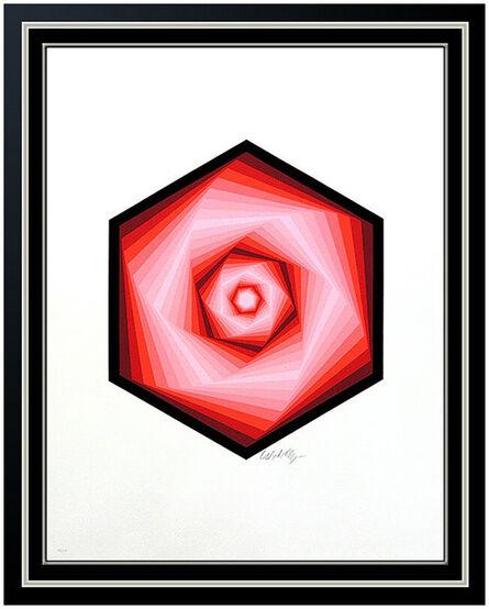 Victor Vasarely, 'Red Vega Spiral', 20th Century