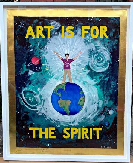 Jonathan Borofsky, 'Art is for the Spirit', 1989