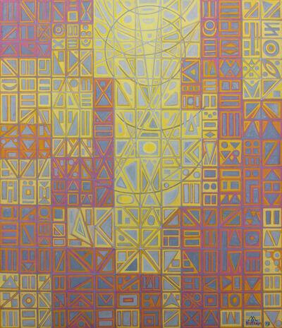 Emil Bisttram, 'Mosaic', 1975