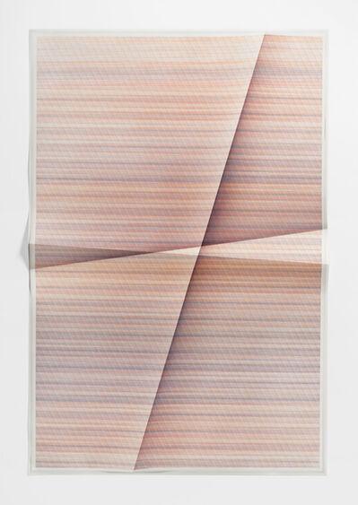 John Houck, 'Untitled #142, 331,777, combinations of a 2x2 grid, 23 colors', 2018
