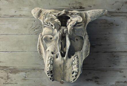 Gregory Block, 'Cow Skull'
