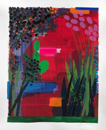 Bruce McLean, 'Garden Red', 2012