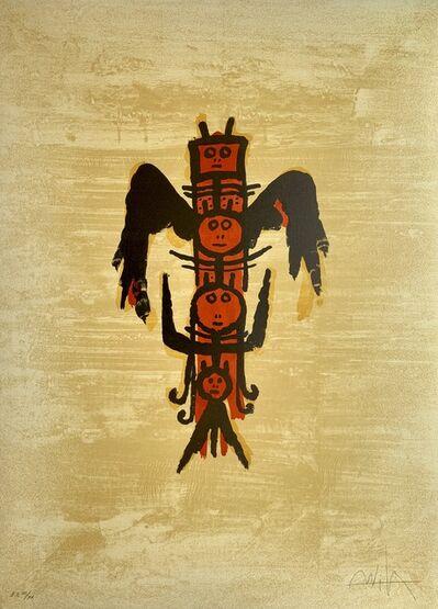 Wifredo Lam, 'El Último Viaje Del Buque Fantasma IX', 1976