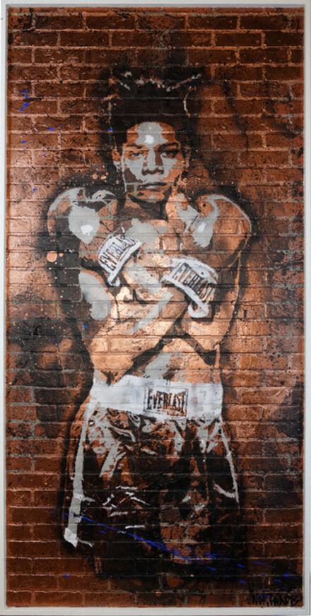 Not.Travis, 'Basquiat Bricked', 2020