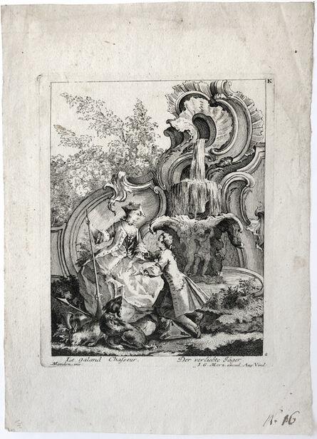 Antoine Aveline, 'Le Galand Chasseur, after Francois Thomas Mondon', after 1736