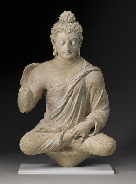 'Seated Buddha', 4th-5th Century