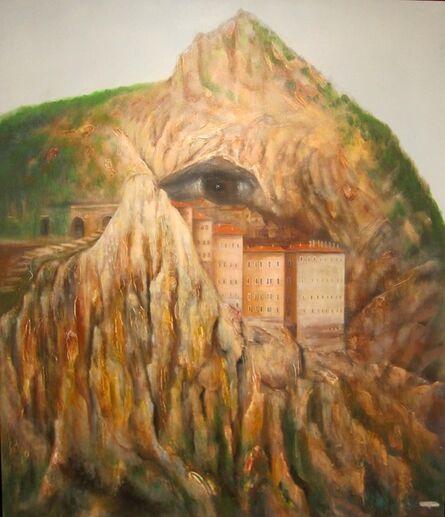 Muzaffer Akyol, 'Longing and the Eye of Sumela', 2014