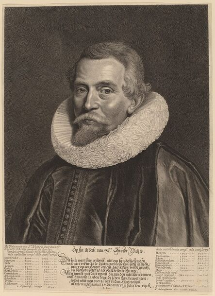 Jonas Suyderhoff, 'David Nuyts', 1645