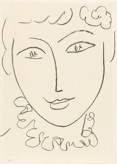 Henri Matisse, 'La Pompadour', ca. 1951