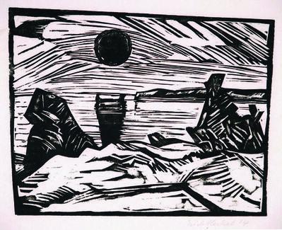 Erich Heckel, 'Sonnenaufgang', 1914