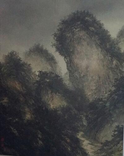 Jiateng Liangzao 加藤良造, '山水境'