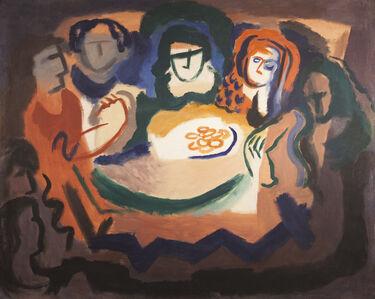 Germaine Derbecq, 'Afternoon tea', 1930