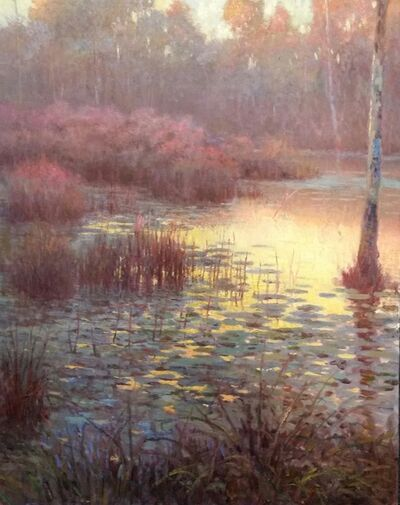 Ed Hatch, 'Lily Pads at Dusk', 2014