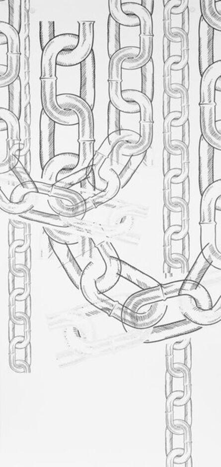 Patrick Staff, 'Chains (Wallpaper)', 2015