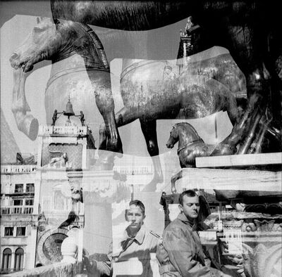 Robert Rauschenberg, 'Bob + Cy, Venice', 1952