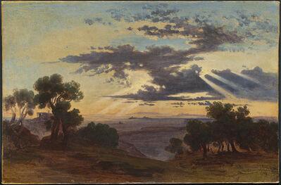 Johann Jakob Frey, 'Sunrise', 1813-1865