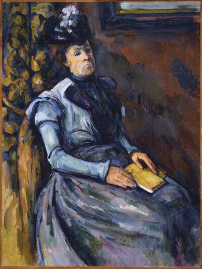 Paul Cézanne, 'Seated Woman in Blue', Between 1902 and 1906