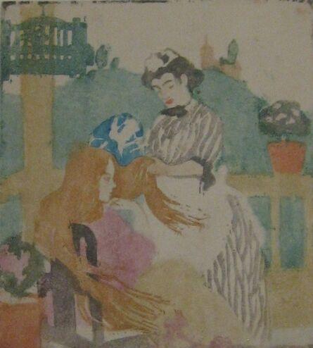 Ethel Mars, 'La Coiffure (Arts and Crafts)', 1908