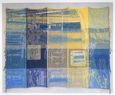 Masumi Nakaoka, 'Building Blocks - blue / yellow / intersection', 2017